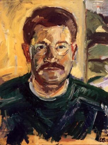 Fotograf: Eget fotoVærk  titel: Jacob Værk  type: Maleri Materiale: Olie på lærred Størrelse: 70x80 cm. Færdiggjort: 1994 Placering: Privat eje, Helgenæs