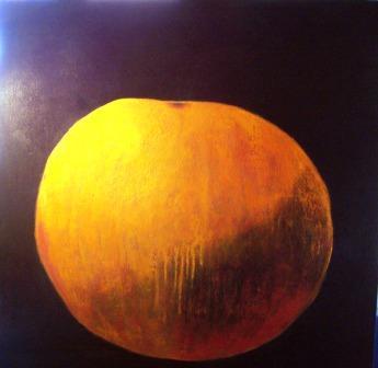 Værk ets titel:One-and-all Materiale: Acryl på lærred Størrelse: 100 x 100 cm Færdiggjort: 2007